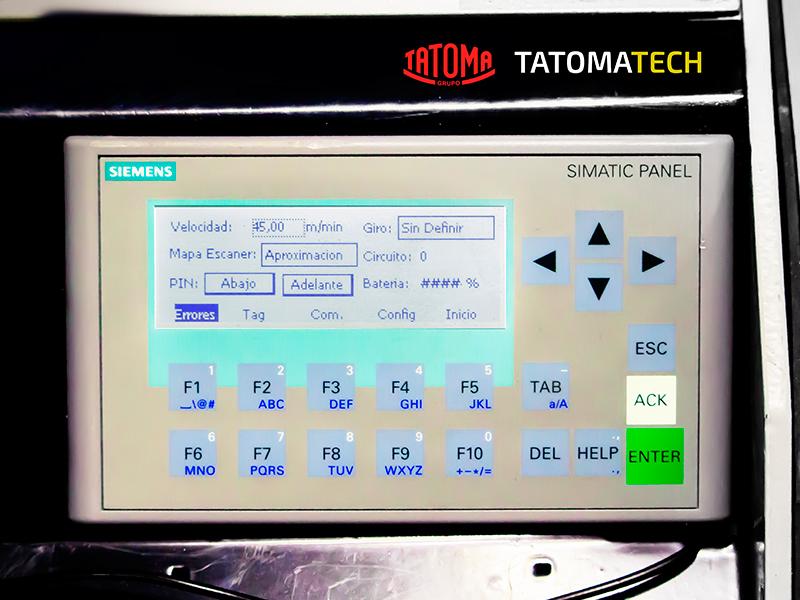 Display AGV Tatoma